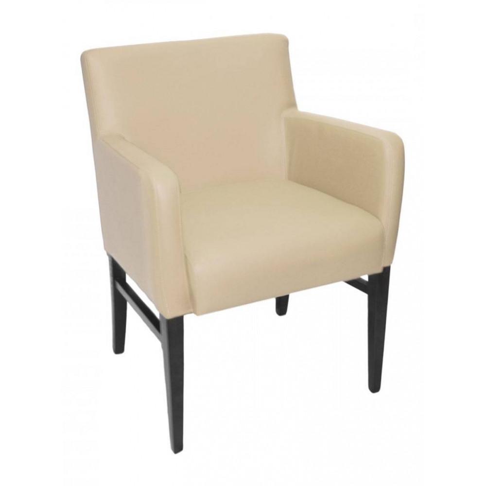Horeca stoel - Andalusia - Crème - Armleuning - Promoline