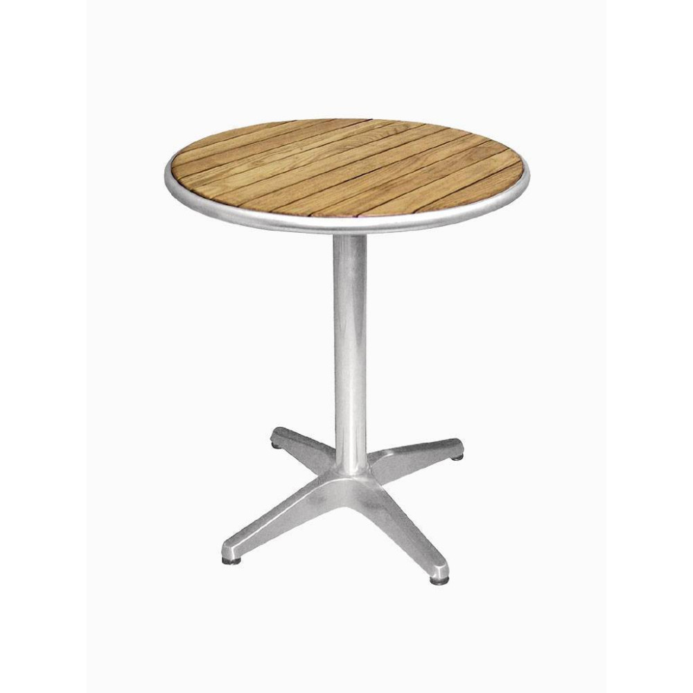 Bolero bistrotafel essenhout rond 80 cm| Horeca tafel