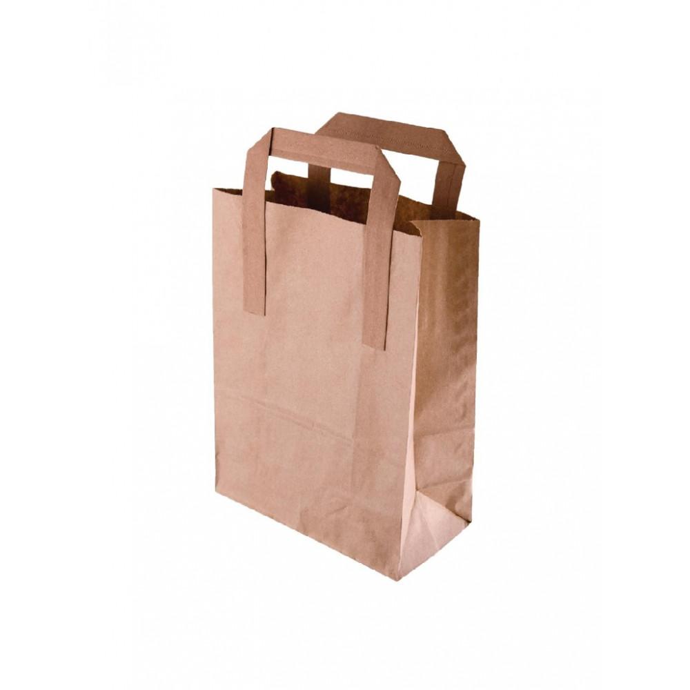 Recyclebare tassen - Papier - Bruin - Groot - Fiesta Green - CF592