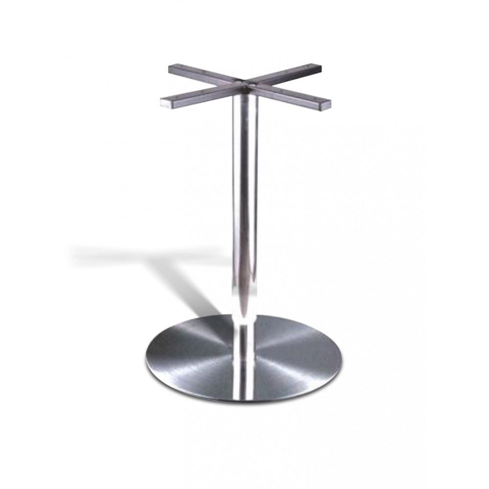 Tafelonderstel / Tafelpoot - RVS - Zilver - Promoline