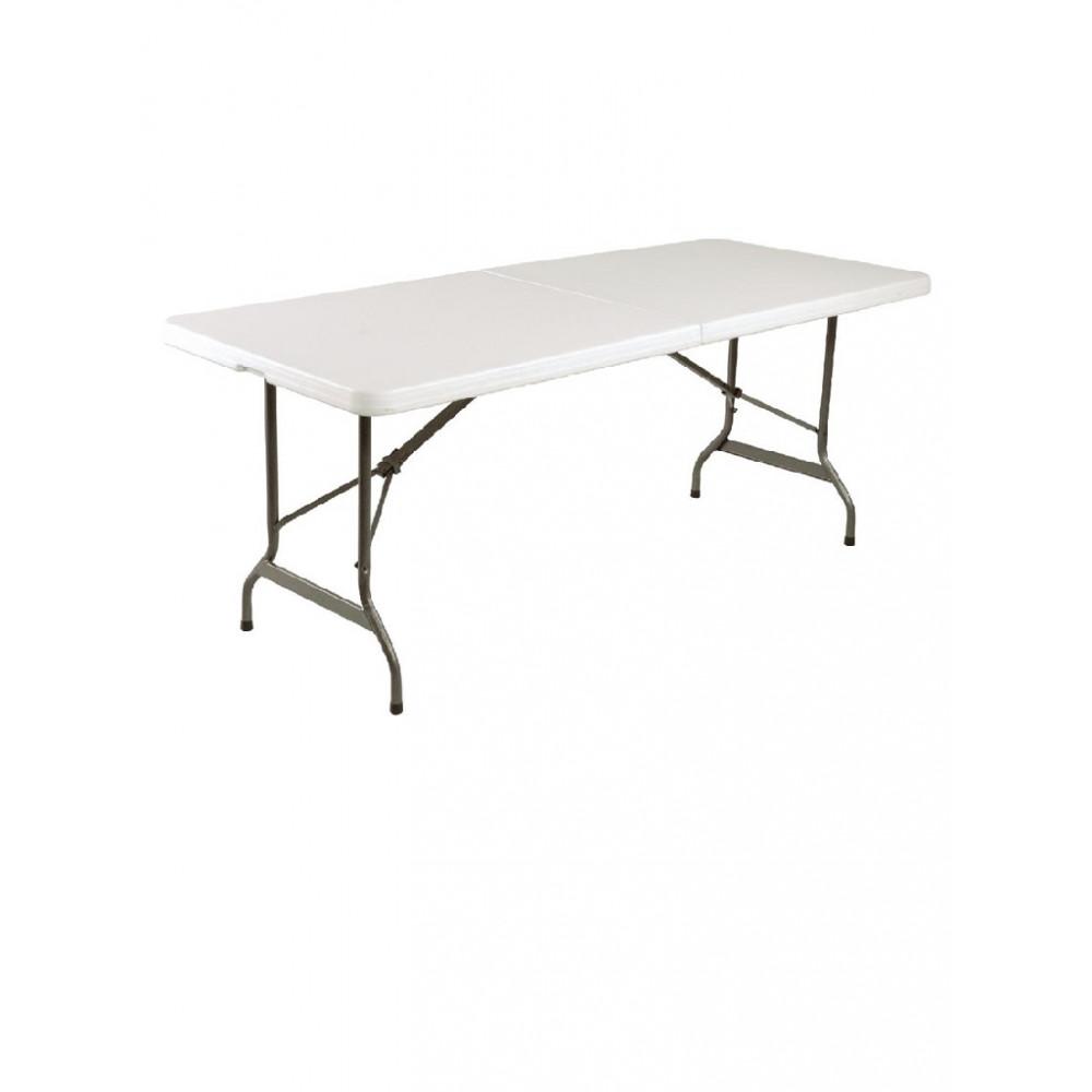 Inklapbare tafel wit 183cm - L001 - Bolero