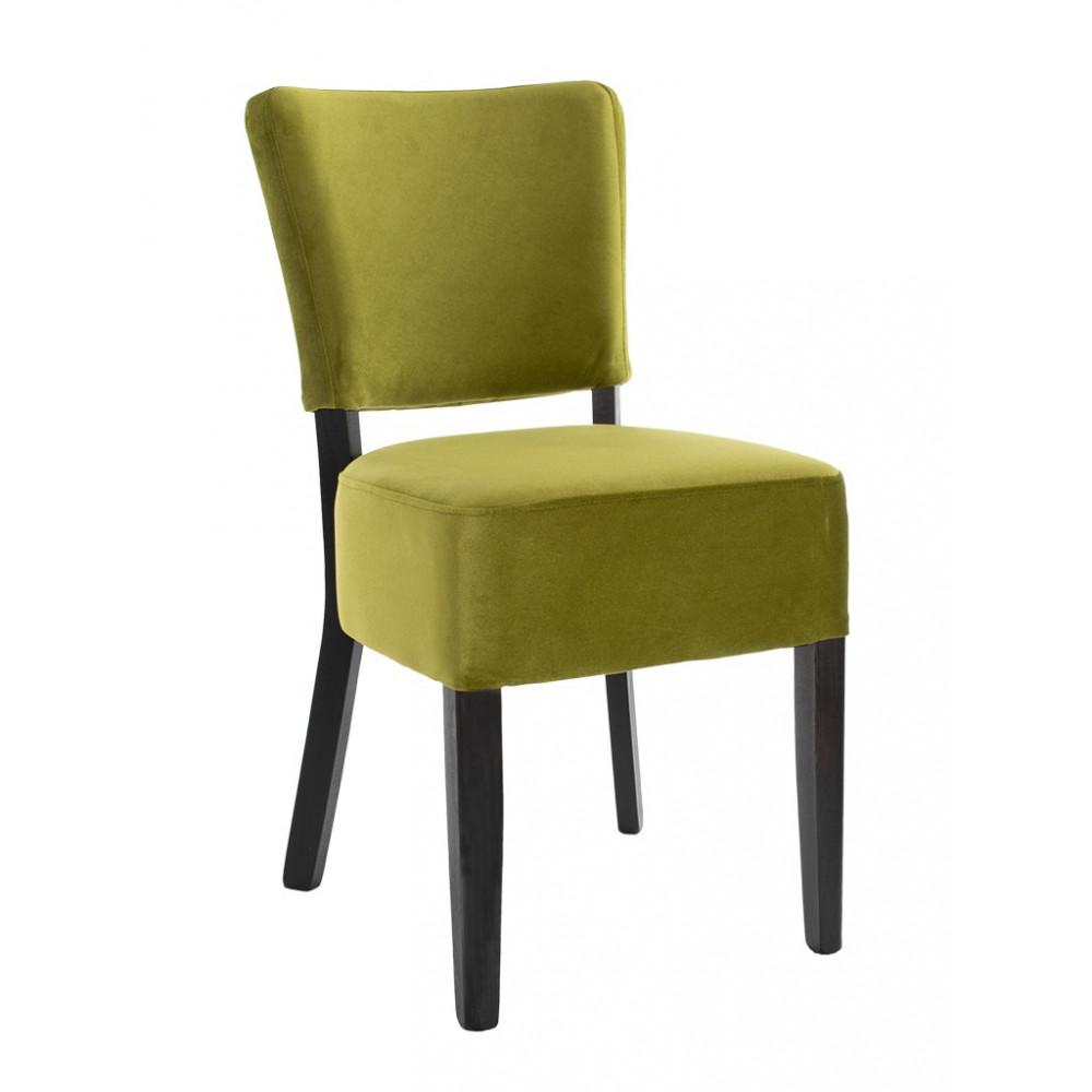 Horeca stoel - Rome - Velvet - Groen