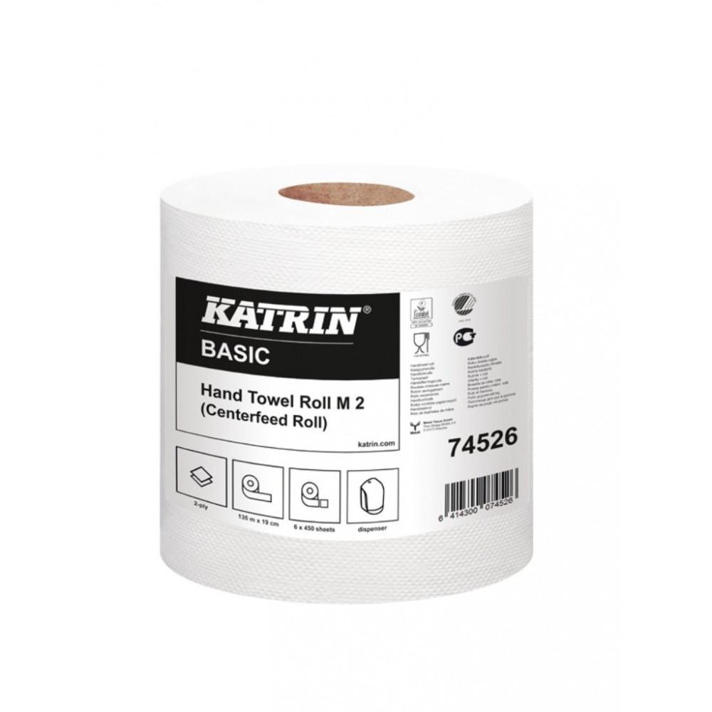 Poetsrol - Professionele kwaliteit - Basic - M 2 - Pak van 6 rollen - Katrin