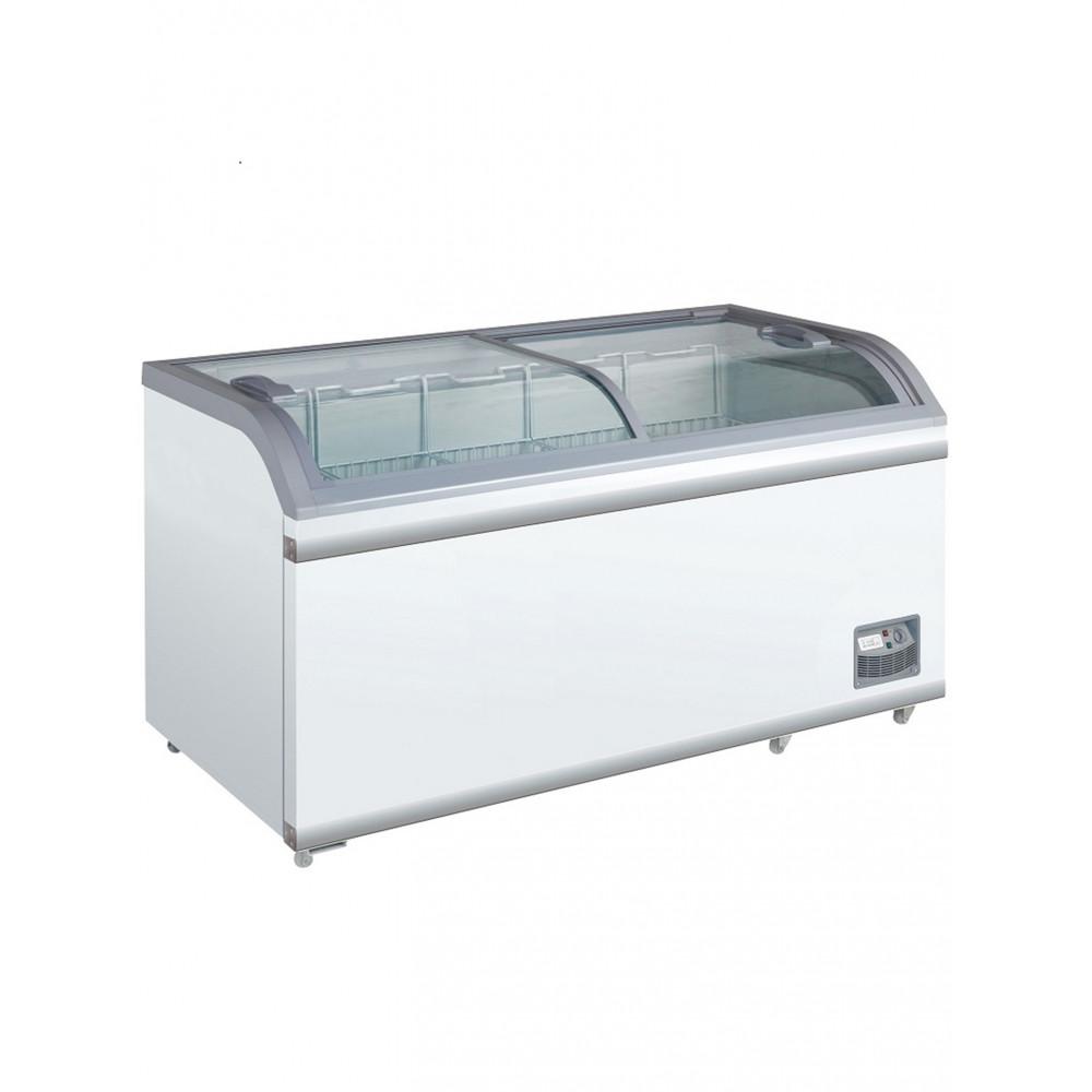 Horeca vrieskist - Glasschuifdeksel - 500 Liter - Scancool - XS602