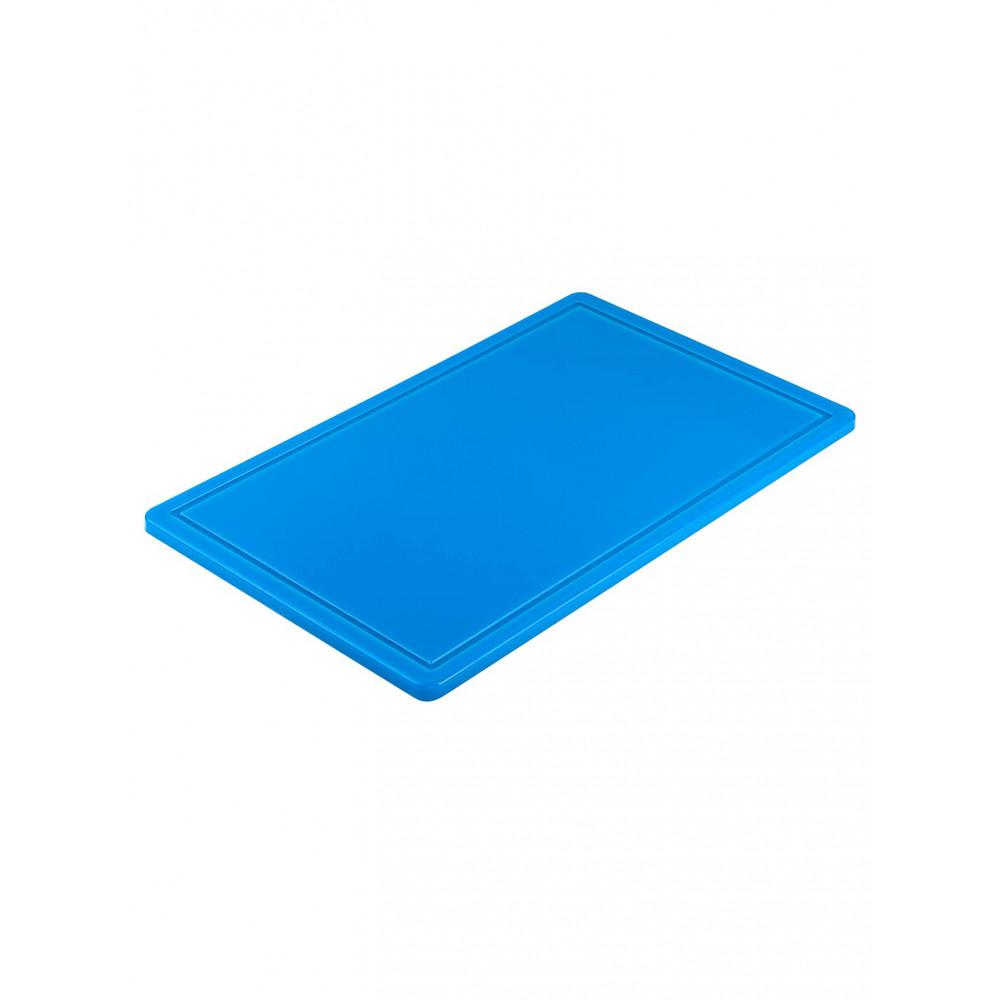 Snijplank - 1/1 GN - HACCP - Blauw - Promoline