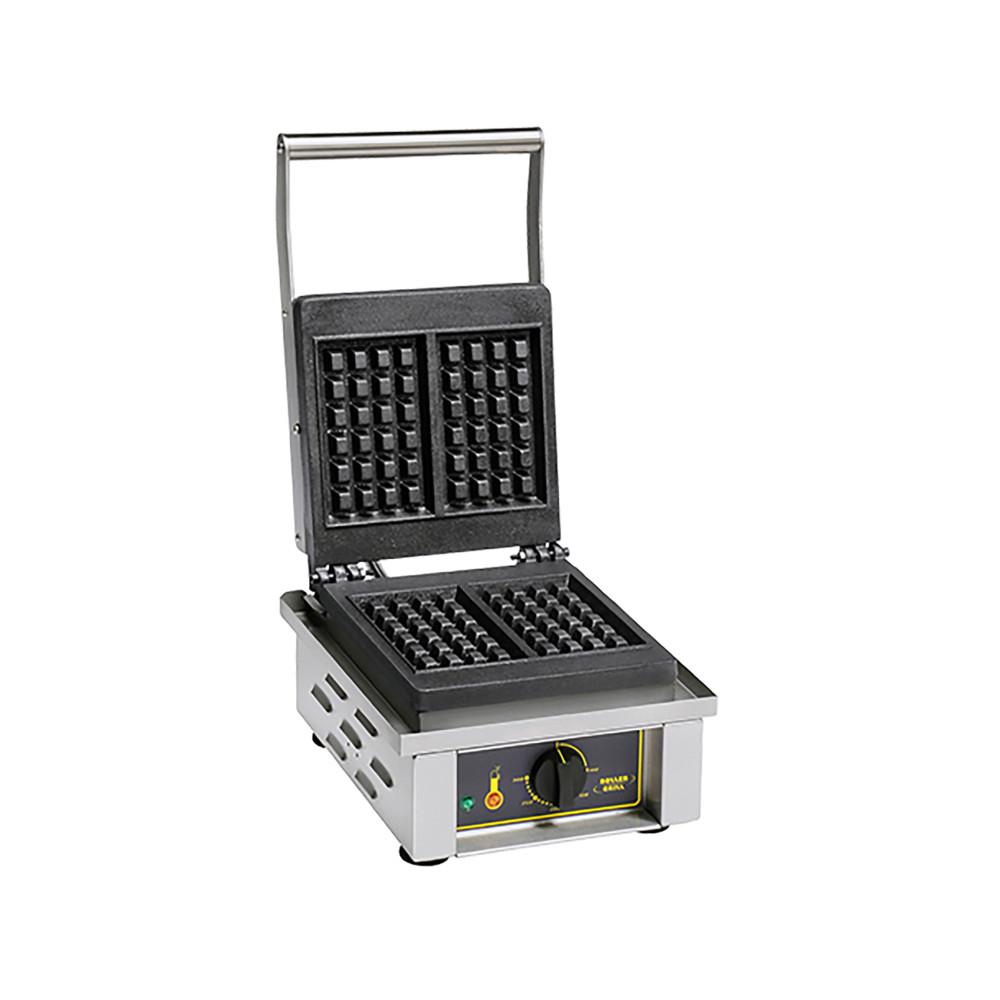 Wafel Bakapparaat - H 23 x 30.5 x 44 CM - 19 KG - 220 - 240 V - 1600 W - Gietijzer - +0°C / +300°C - Roller Grill - 304042
