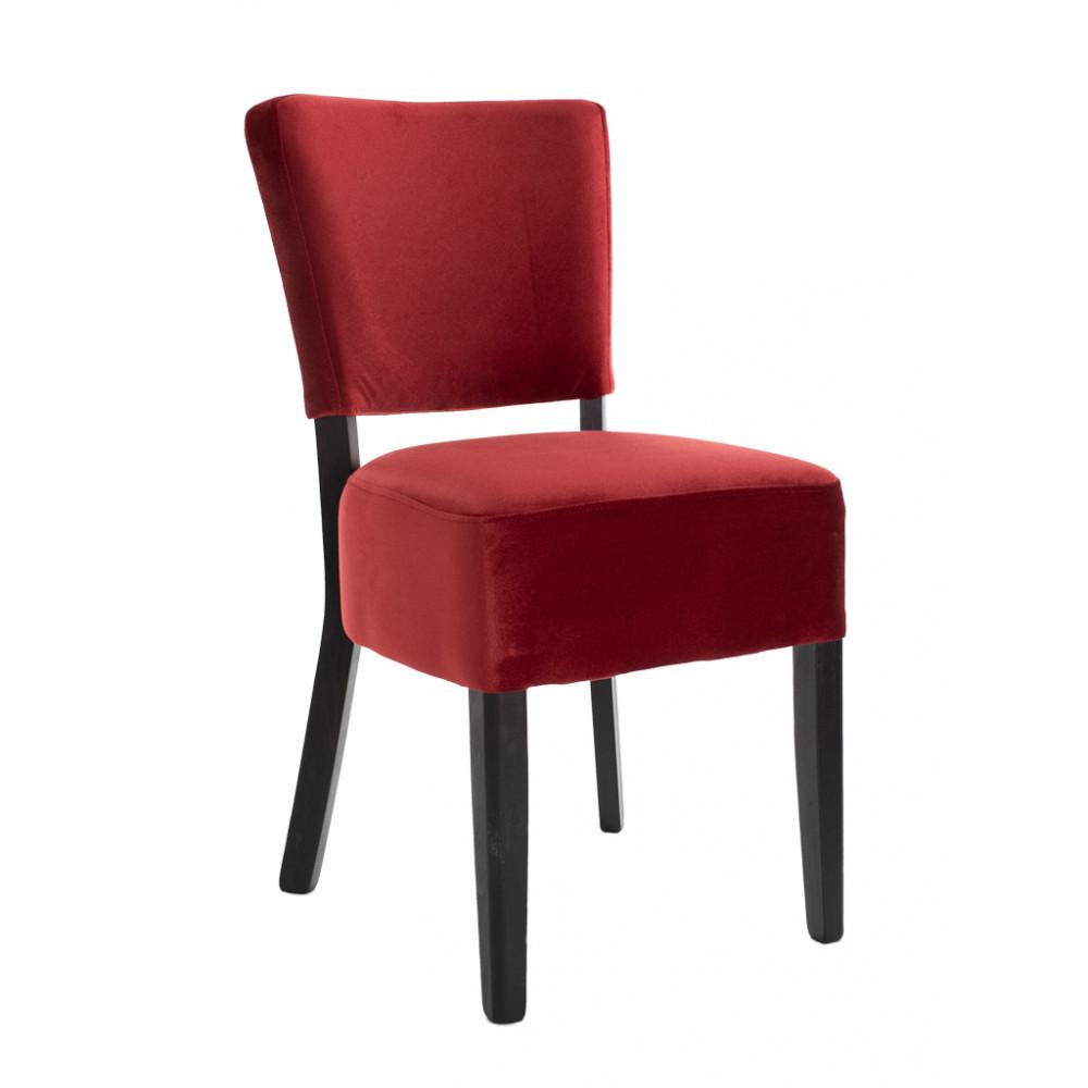 Horeca stoel - Rome - Velvet - Rood