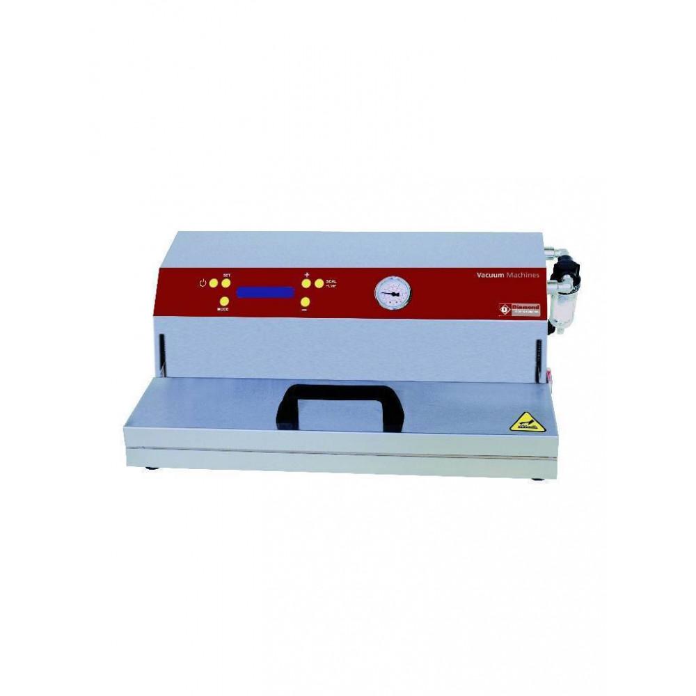 Vacuümmachine - pomp 16 l./min - lasnaad 330 mm - RVS - VAX/33-L - Diamond