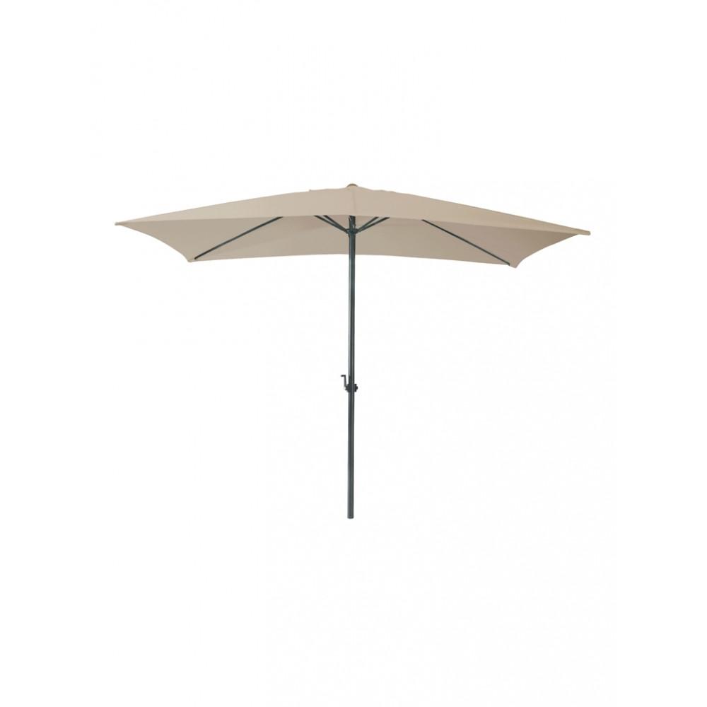 Parasol Mambo vierkant - 300x300 cm - Taupe