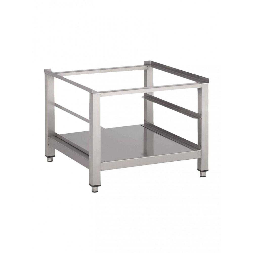 Vaatwasmachine onderstel - onderblad en geleider- 60x60x40cm open