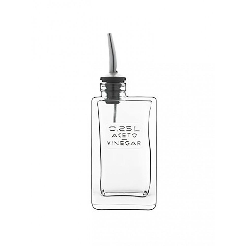 Azijnfles - 0.25 Liter - 6 Stuks - Luigi Bormioli - Optima - 526108