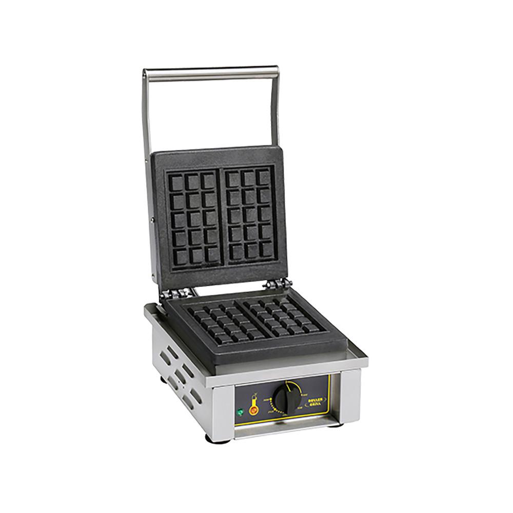 Wafel Bakapparaat - H 23 x 30.5 x 44 CM - 19 KG - 220 - 240 V - 1600 W - Gietijzer - +0°C / +300°C - Roller Grill - 304041