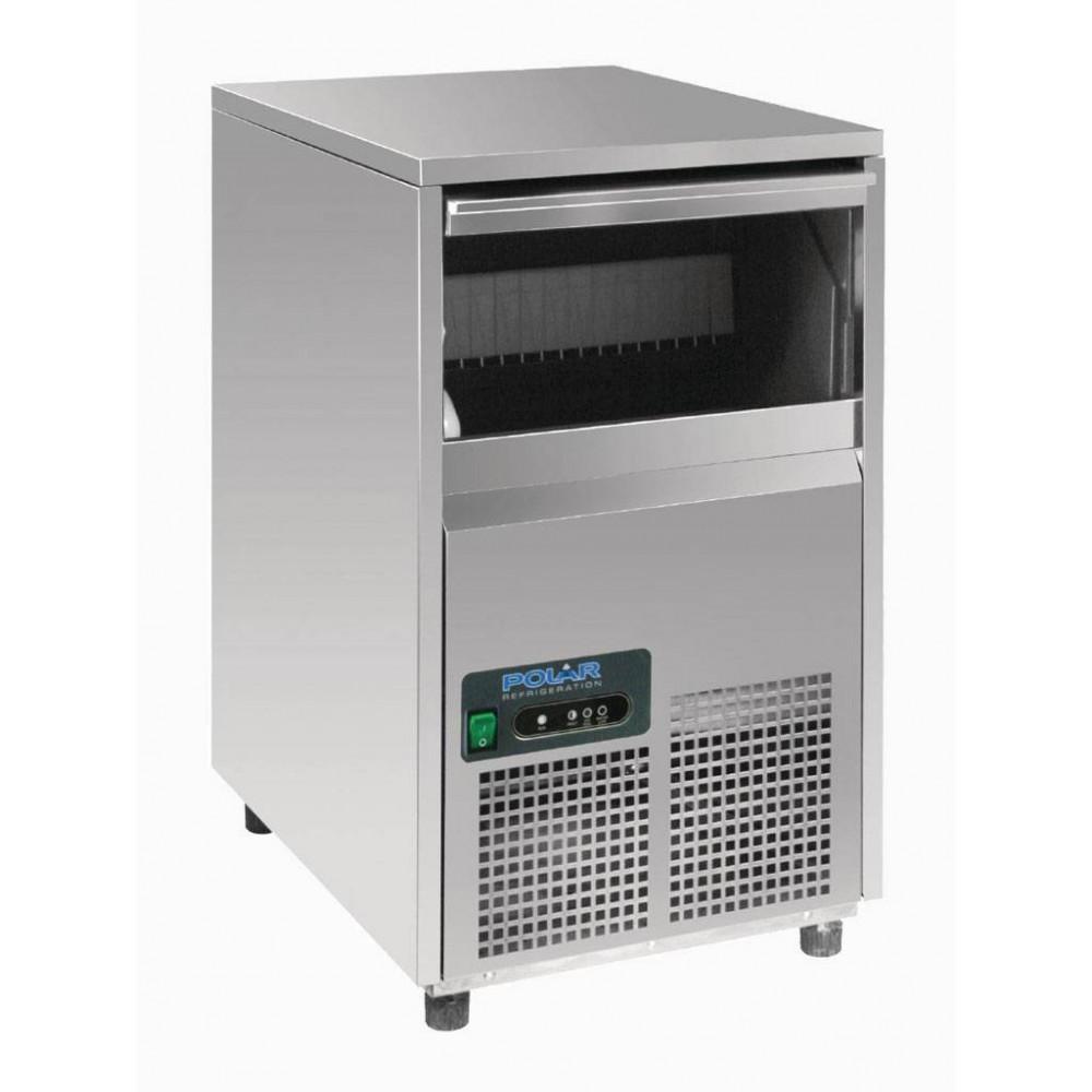 Polar 22 kg / 24u - Holle ijsblokjes - Spray luchtgekoeld | Holle ijsblokjesmachine