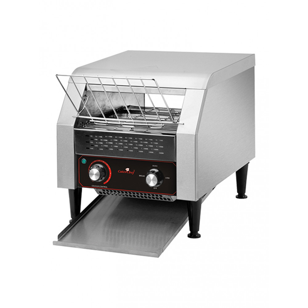 Conveyor Toaster T200 - RVS - CaterChef - 688200