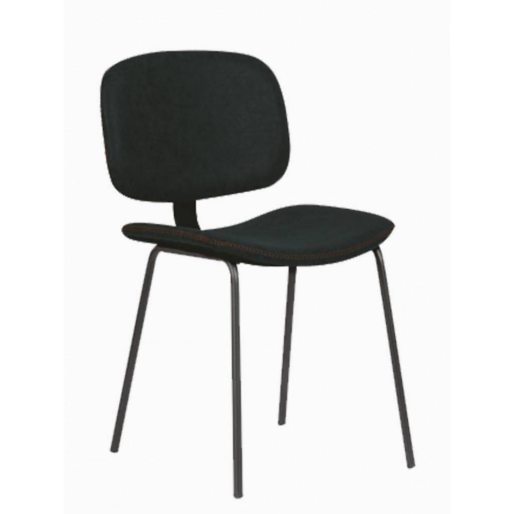 Horeca stoel - Louis - Zwart - Staal