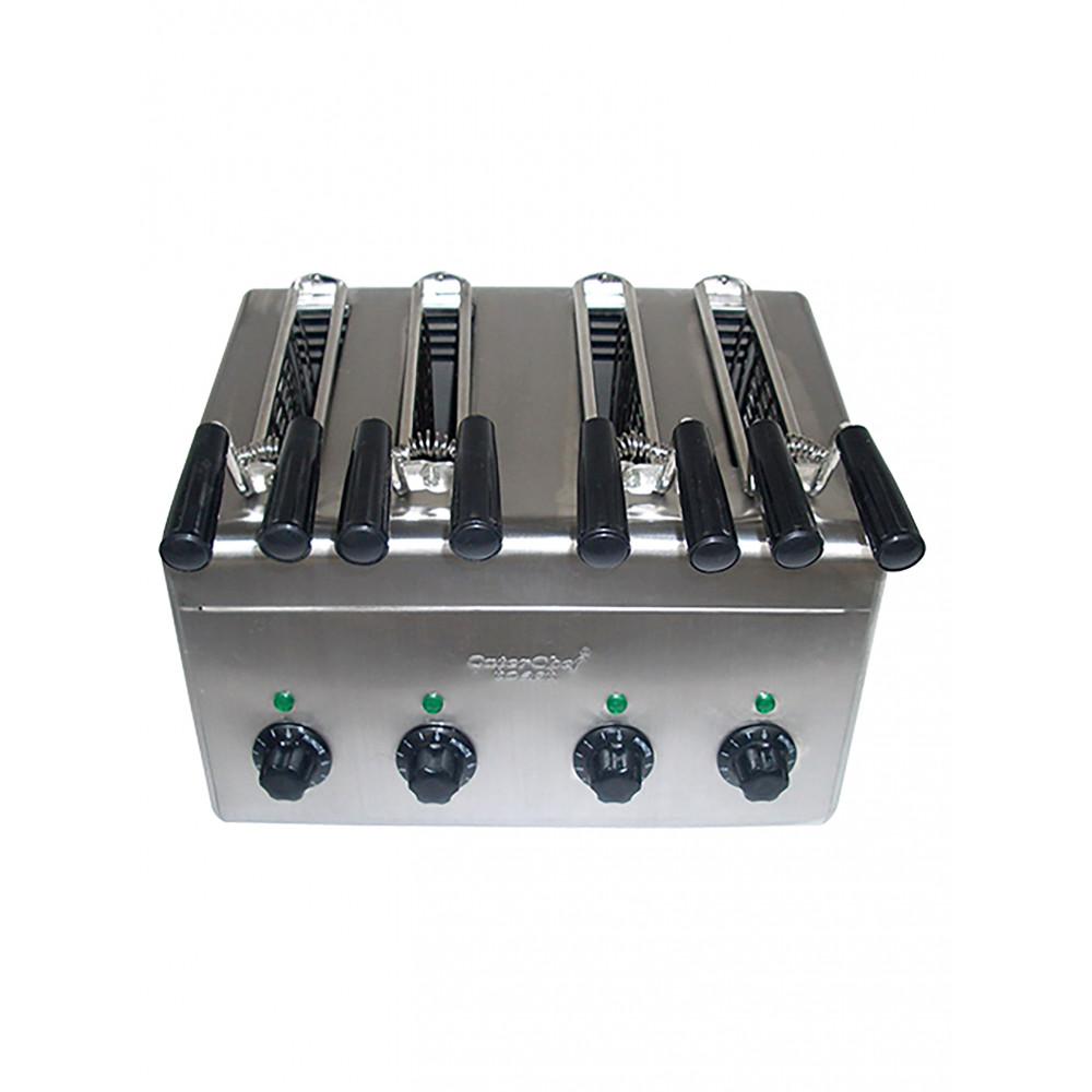 Tosti Apparaat - H 29 x 38 x 31 CM - 8.3 KG - 220 - 240 V - 2800 W - RVS - Caterchef