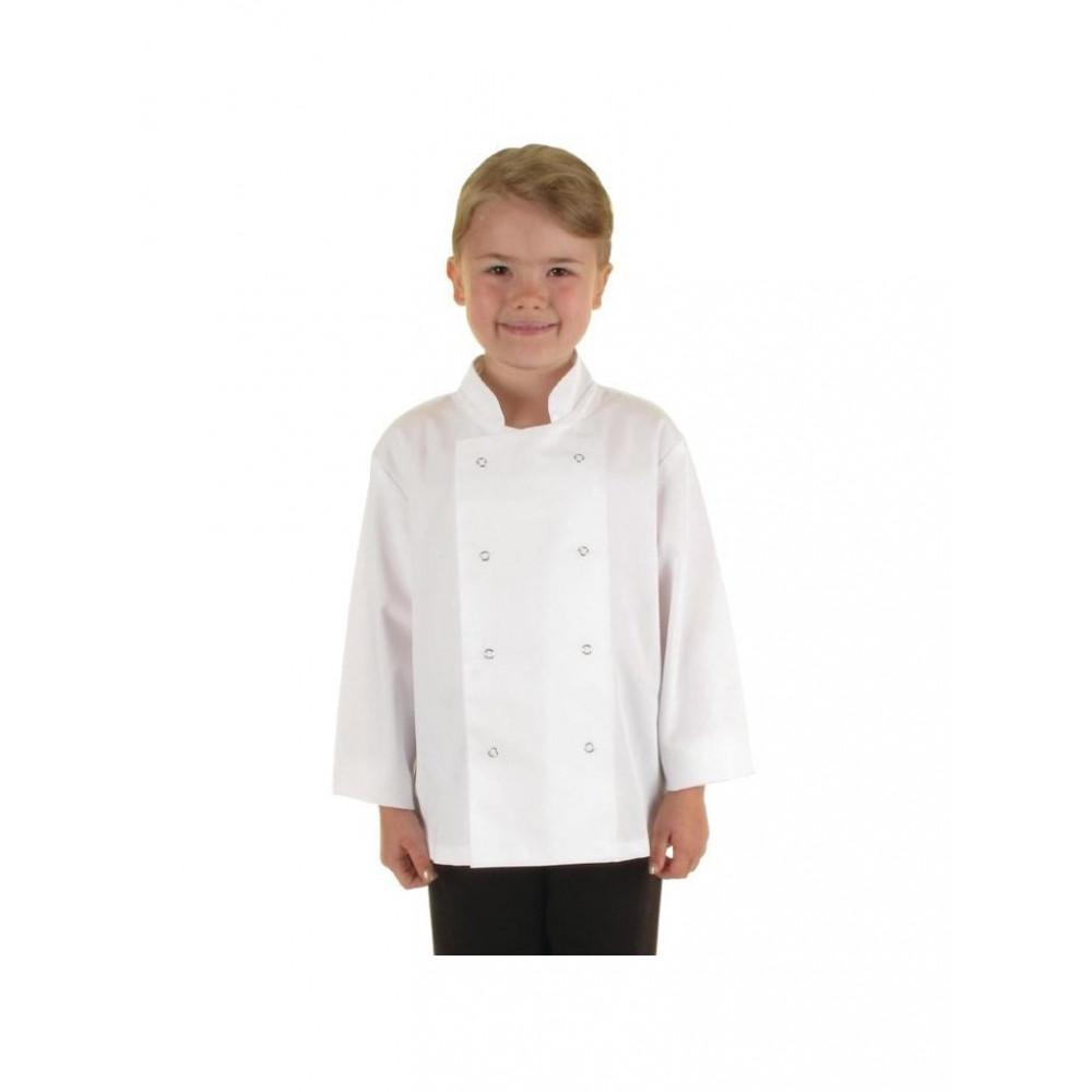 Koksbuis voor kinderen - Wit - Whites Chefs Clothing