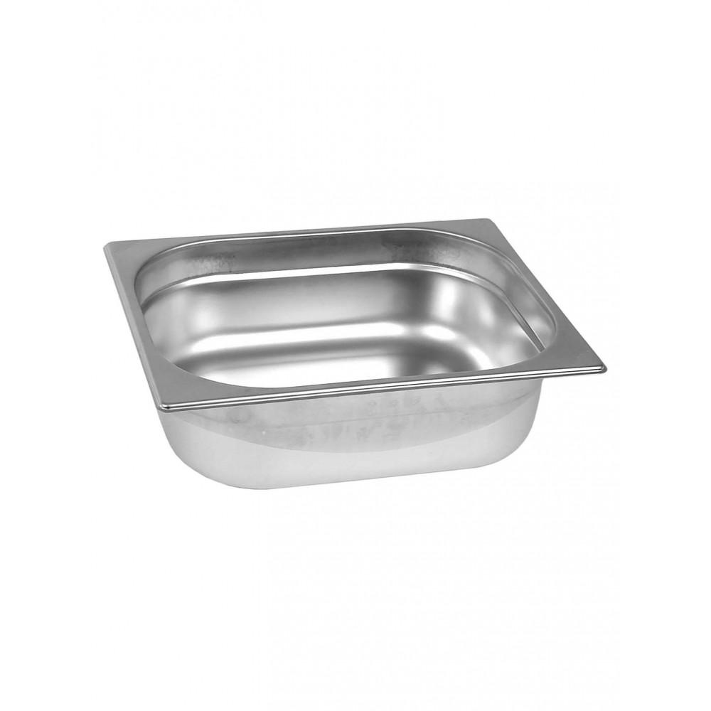 Gastronormbak - RVS - 1/2 GN - 100 mm - Promoline