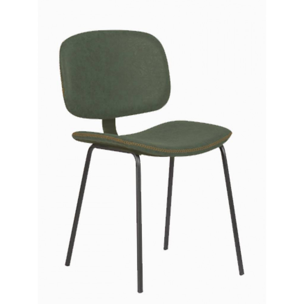 Horeca stoel - Louis - Green - Staal