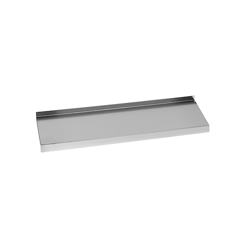 Wandplank - H 4 x 120 x 30 CM - 2.8 KG - RVS - Multinox - 317081