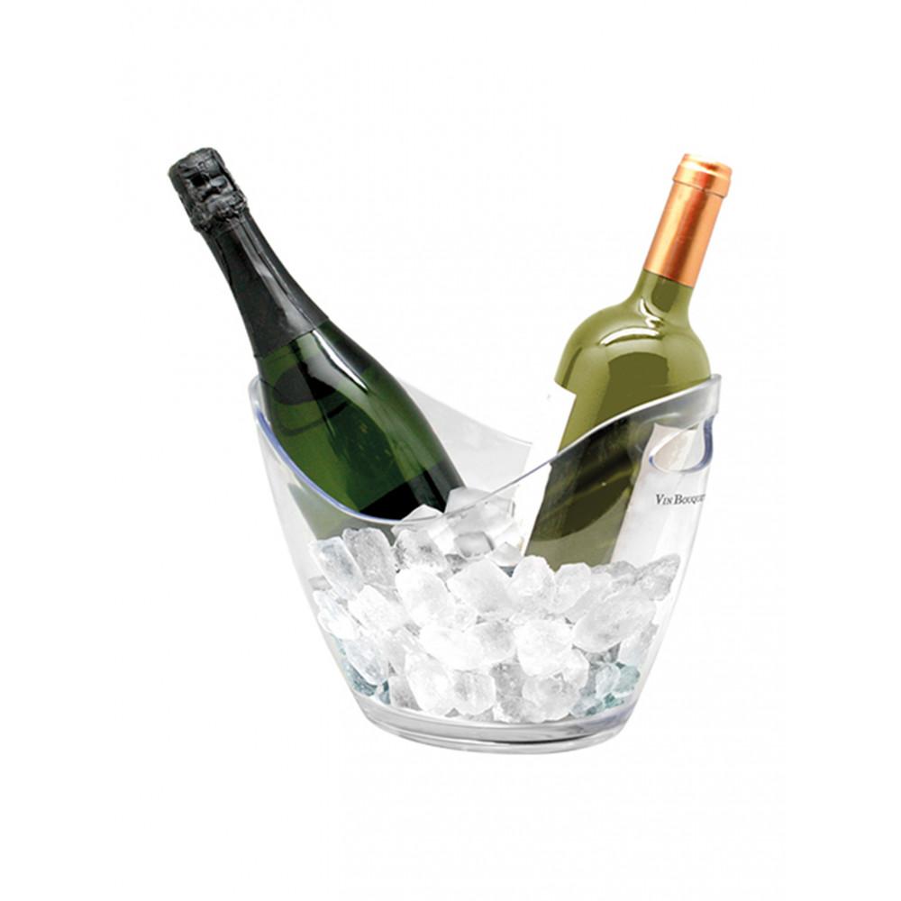 Wijnkoeler - Kunststof - 2 Flessen - 130255