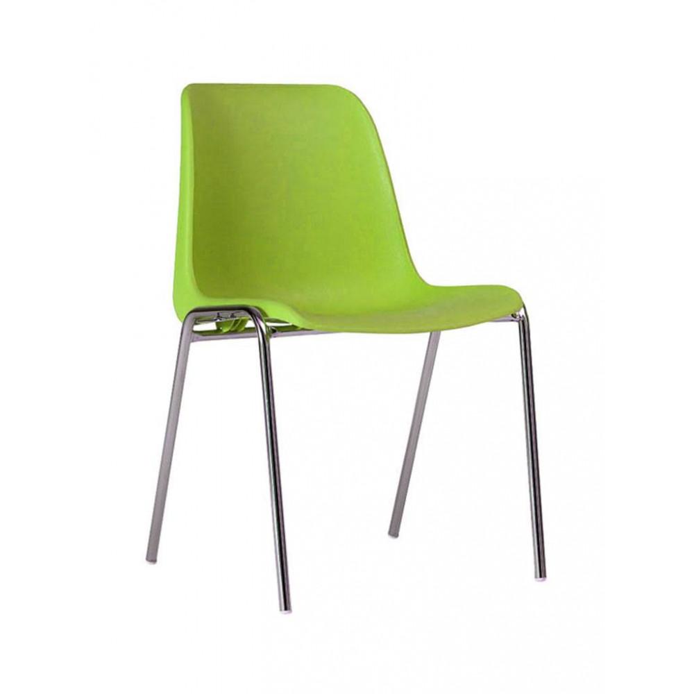 Horeca stoel - Helene - Licht groen - Stapelbaar - Promoline