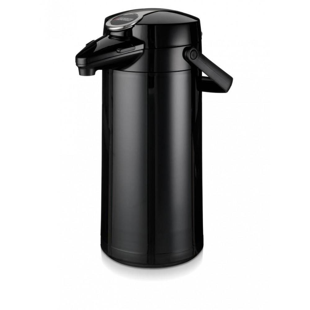 Airpot Furento - 2.2 liter - Zwart/Glas - Bravilor