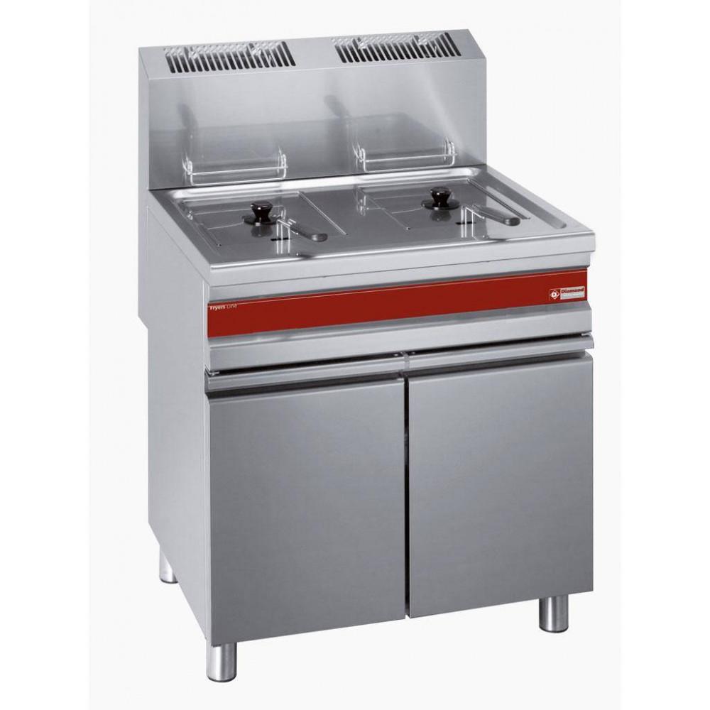 Gasfriteuse - Fryers Line - 2x 15L - Op kast - F15+15G/M - Diamond