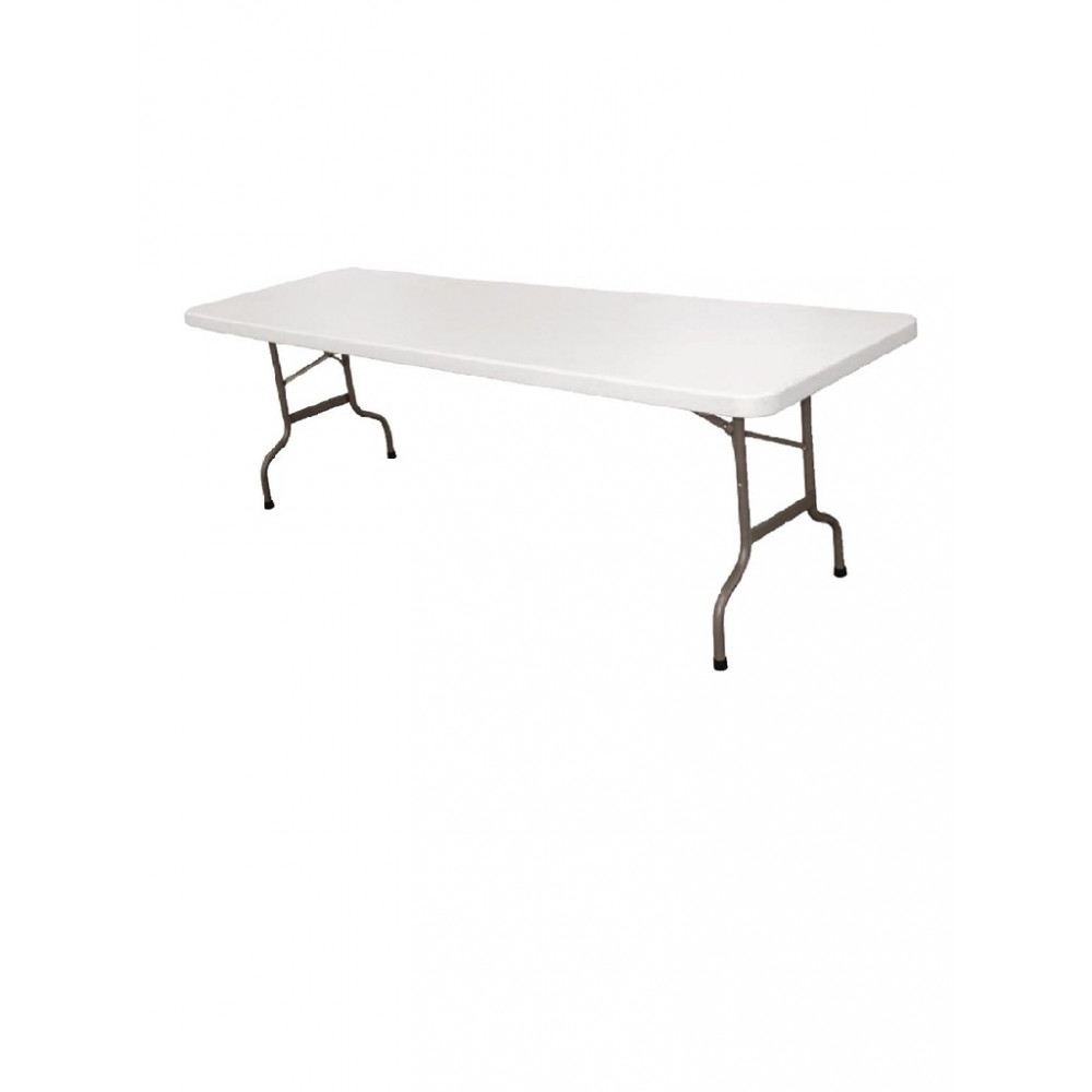 Inklapbare tafel wit 244cm - CF375 - Bolero