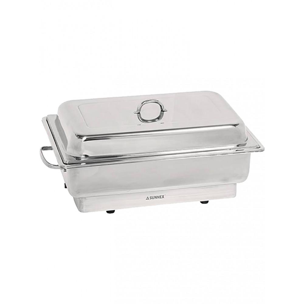 Chafing Dish - H 28 x 62 x 36 CM - 7.57 KG - 220 - 240 V - 840 W - RVS 18/10 - 861120