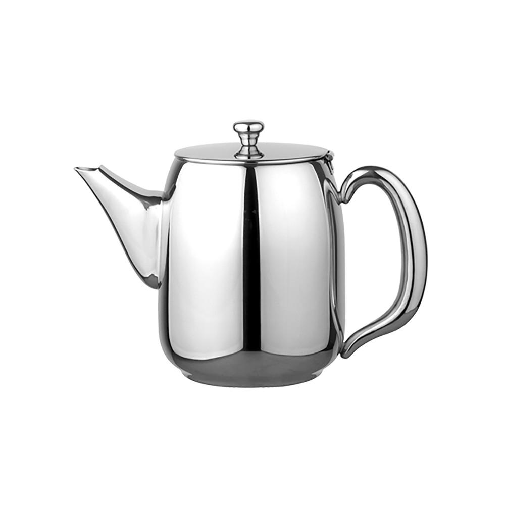 Koffiepot - H 19 CM - 0.725 KG - Ø14 CM - RVS 18/10 - 1.75 Liter - 635010