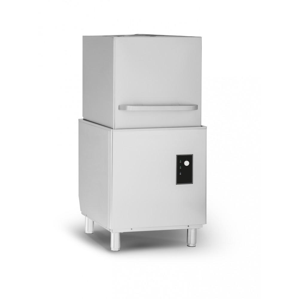 Horeca doorschuif vaatwasser / vaatwasmachine   Promoline - GE500 Easywash - Met afvoerpomp - 400V