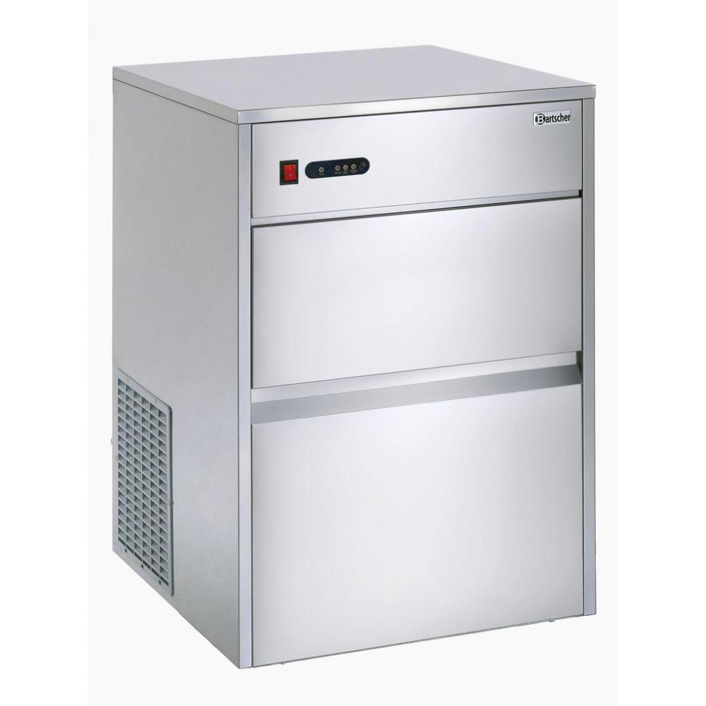 Bartscher 25 kg / 24u - Holle ijsblokjes - Luchtgekoeld | Holle ijsblokjesmachine