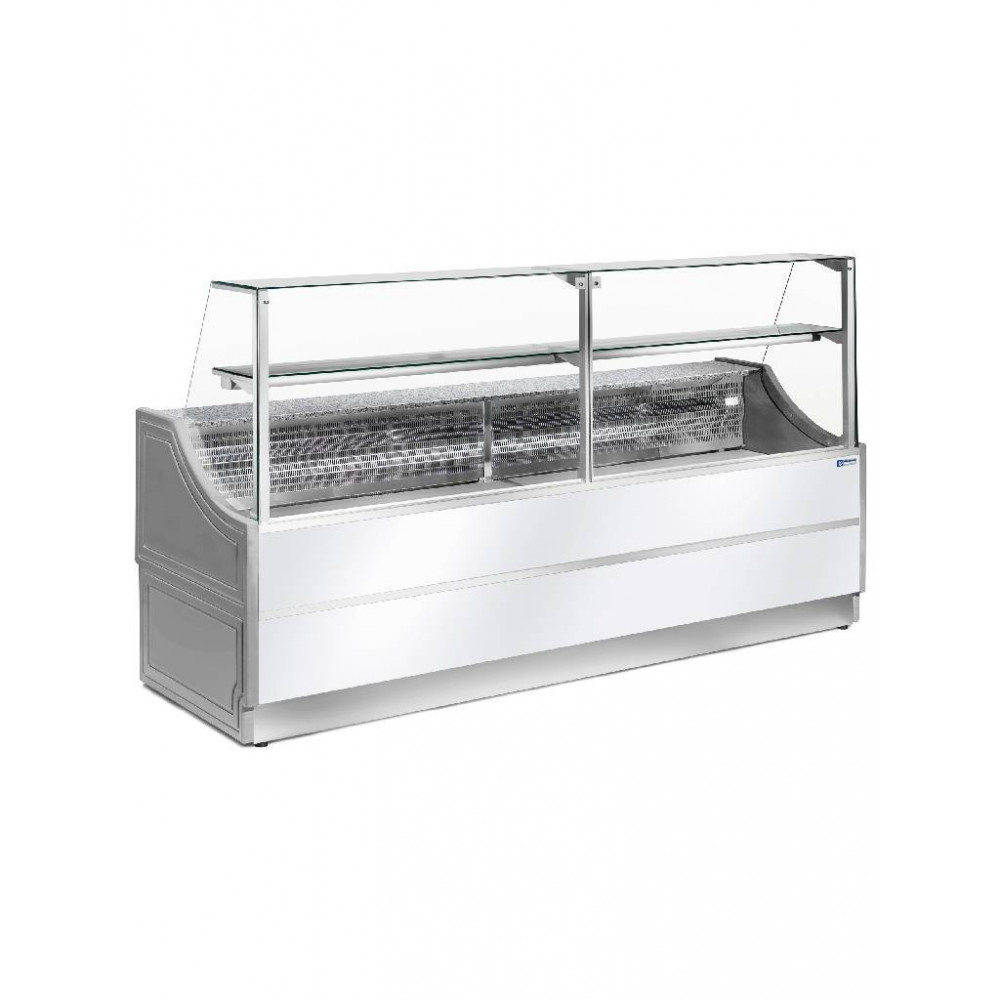 Gekoelde Vitrinetoonbank - Ruit 90° - OL200/A2 - Diamond