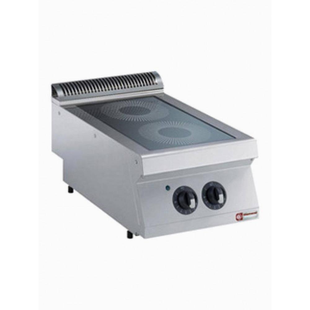 Elektrische vitrokeramische kookplaat 2 zones - 1700 line