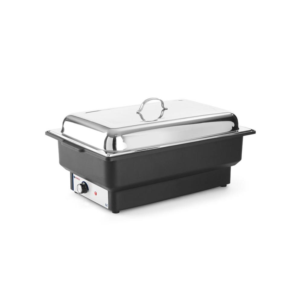 Chafing dish - Elektrisch - Tellano - 9 liter - Zwart - Hendi - 204825