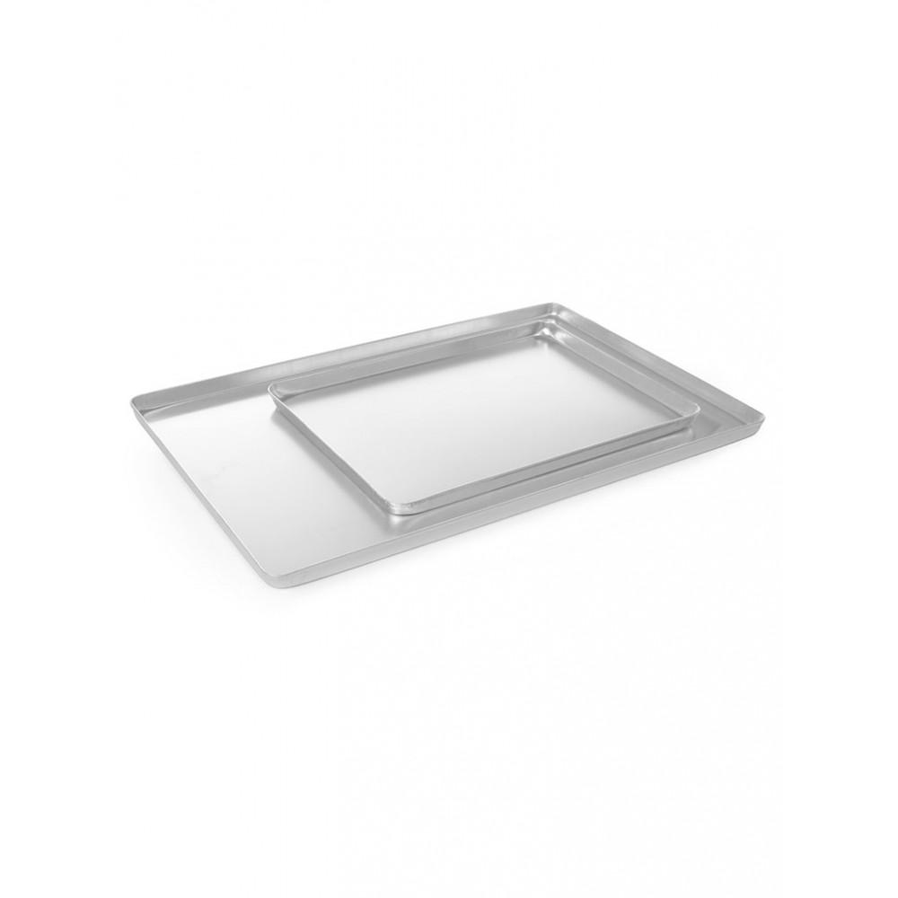Vitrineplateau Zilverkleurig - 40 X 30 CM - Aluminium - Hendi - 808504