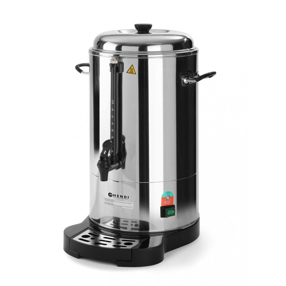 Koffie percolator - 10 liter - Dubbelwandig - Hendi - 211205