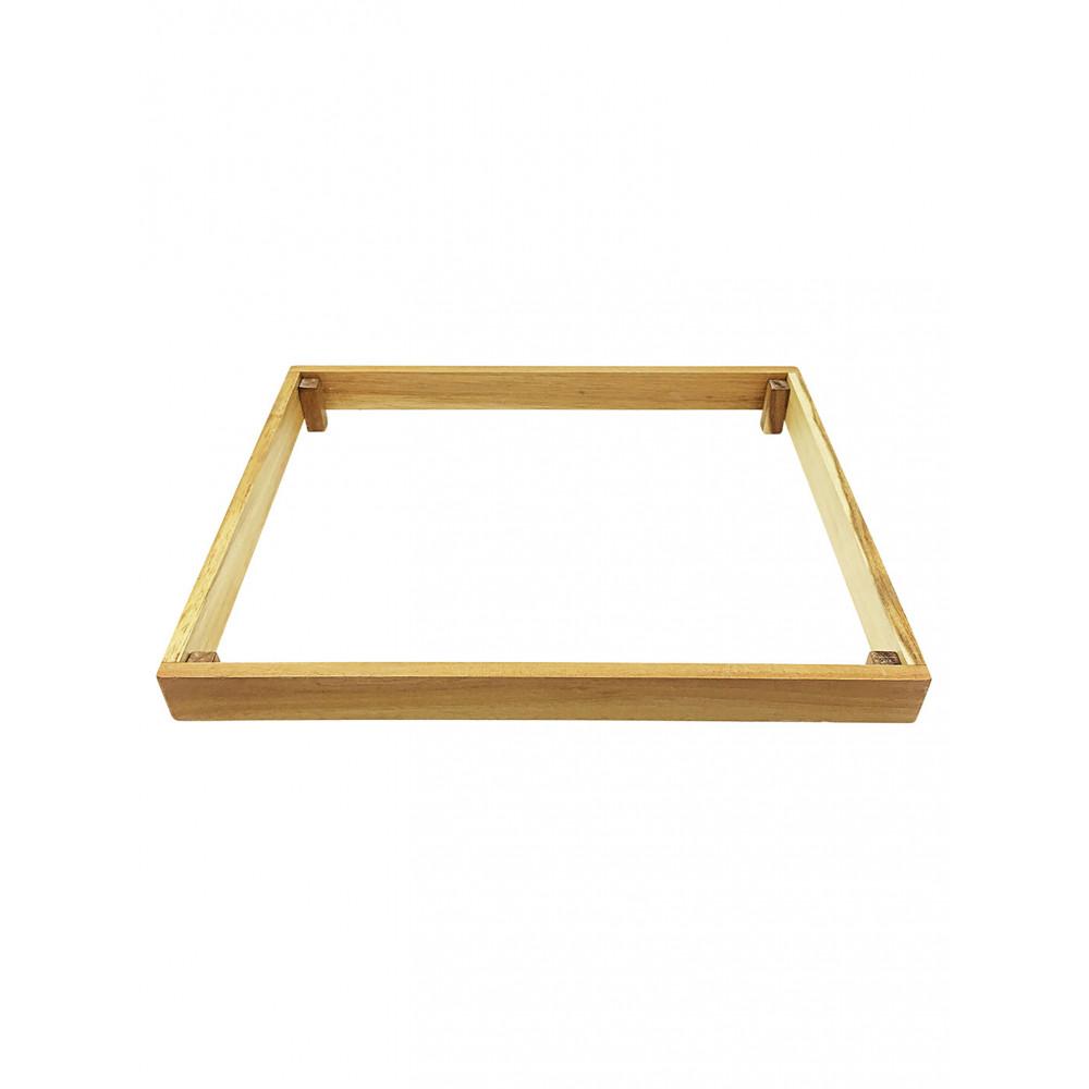 Buffet display - Acacia hout - 42 x 32 CM - TBV 77153 - Promoline