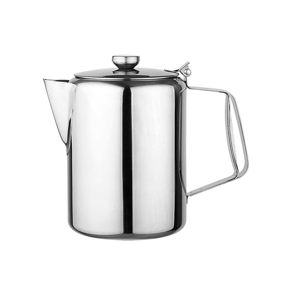 Koffiepot - H 19 CM - 0.56 KG - Ø13 CM - RVS - 2 Liter - 861011