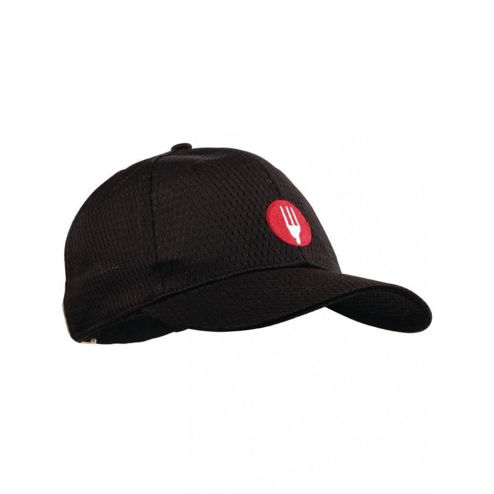 Cool Vent baseball cap - Zwart - Chef Works - A976