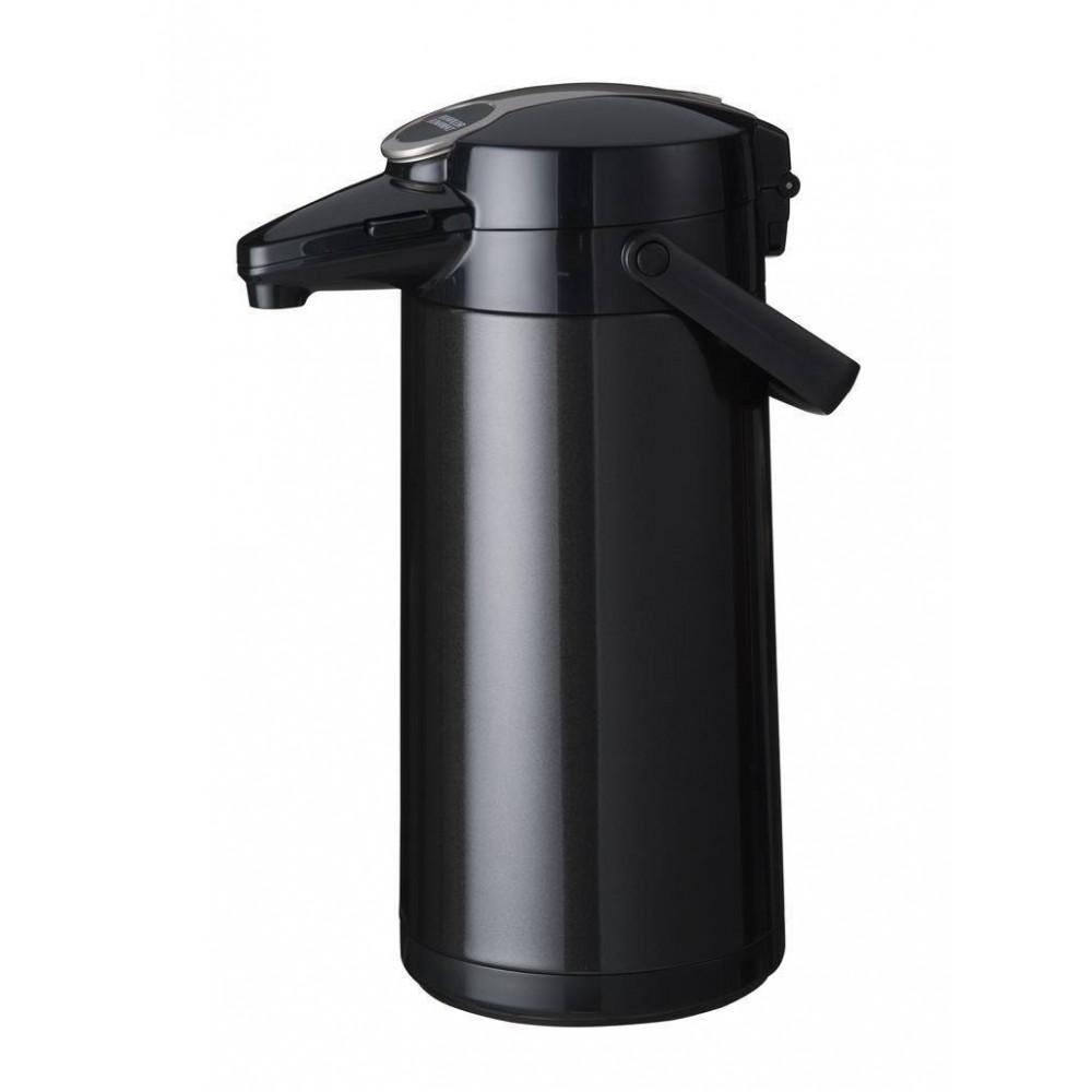 Airpot Furento - 2.2 liter - Zwart/RVS - Bravilor