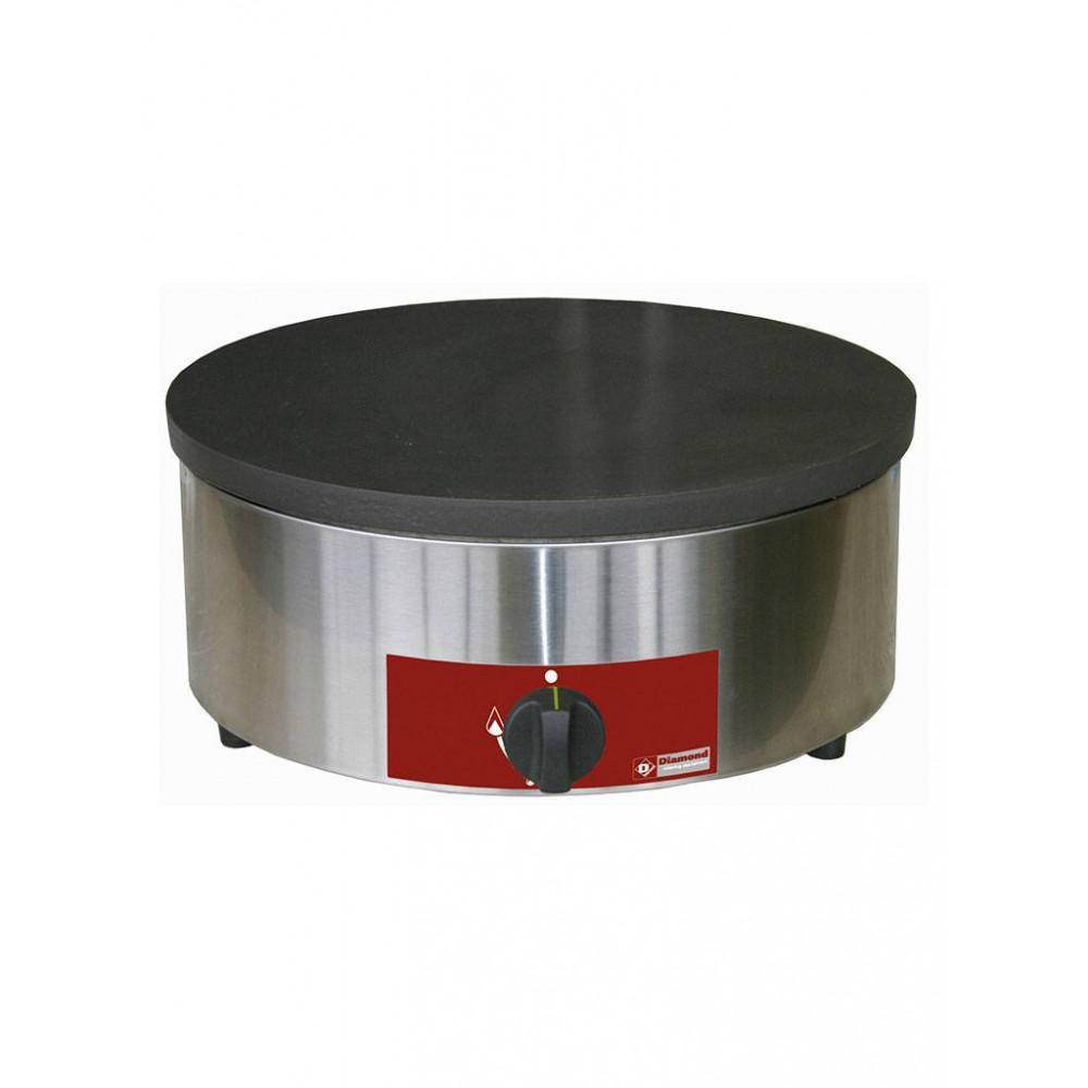 Pannekoekplaat - Enkel - Gas - Hoog rendement - BRET/1G-HR - Diamond