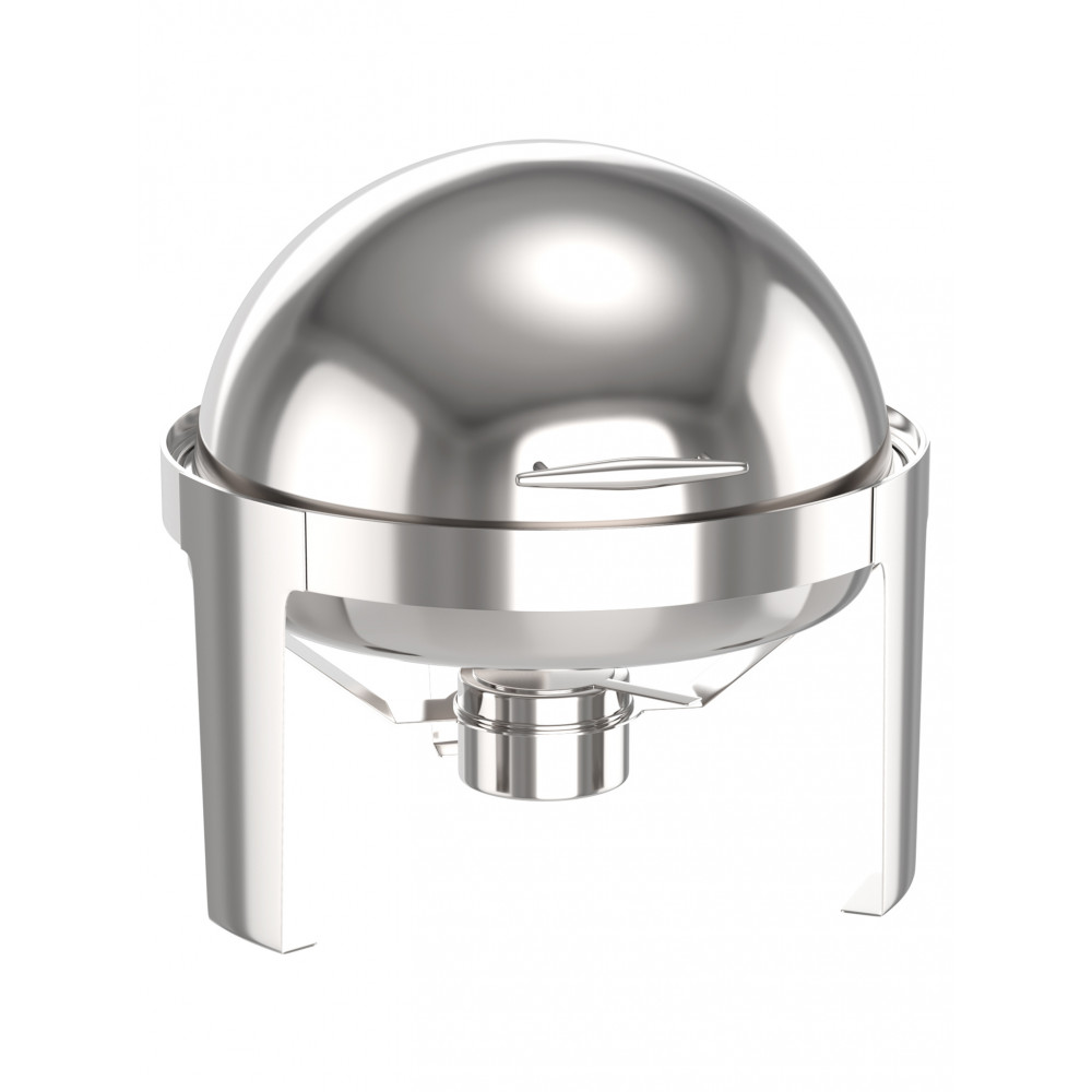 Chafing dish - Incl. brander - Rond - Promoline