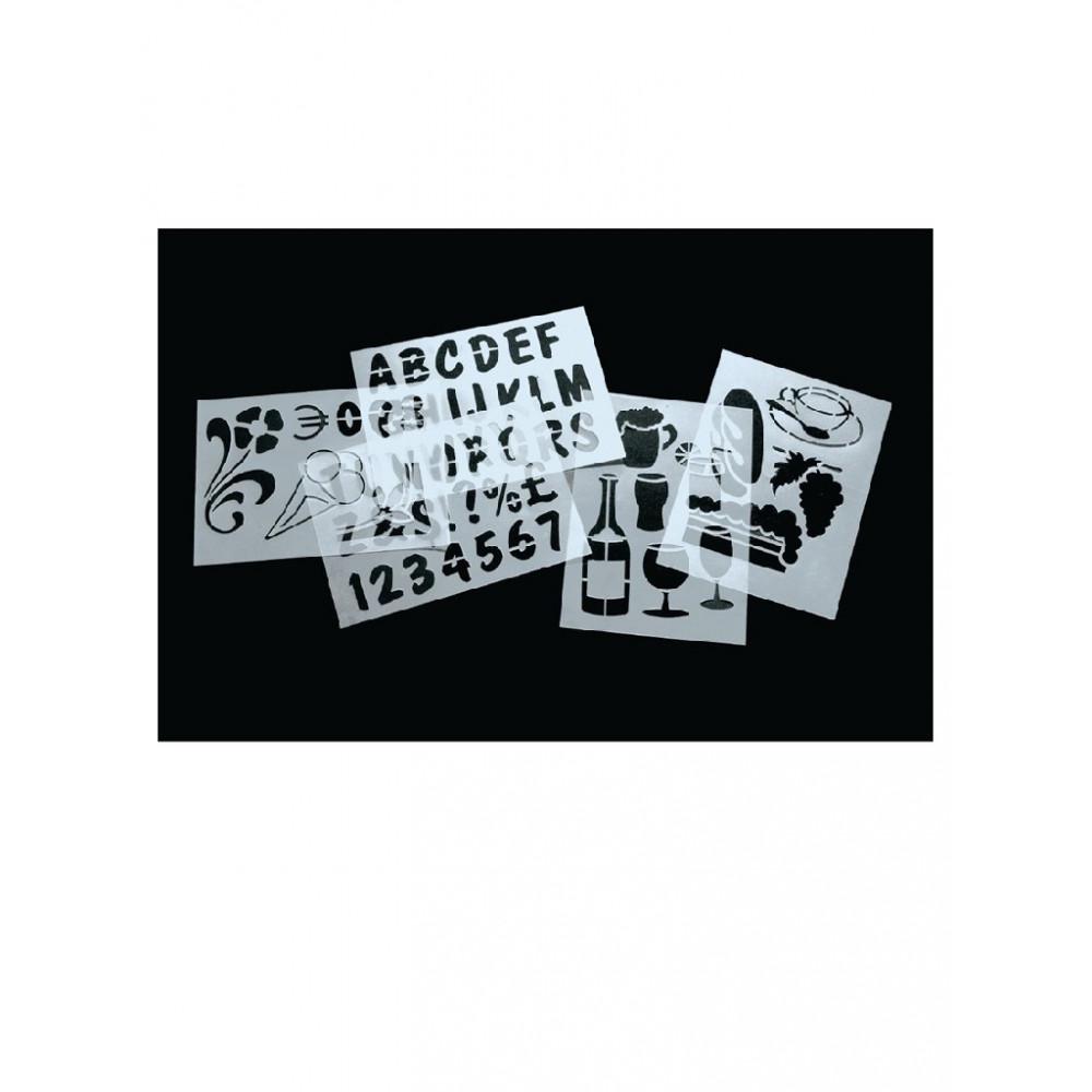 Securit sjablonen - E287