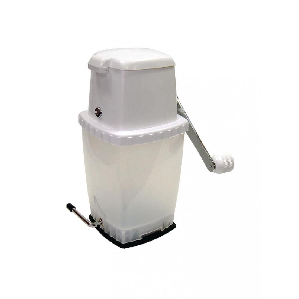 IJscrusher met vacuümbasis wit - CK717