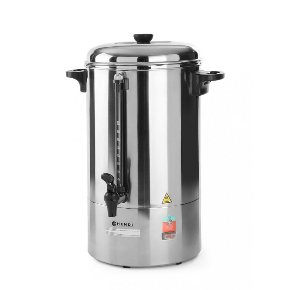 Koffie percolator - 10 liter - Enkelwandig - Hendi - 208106
