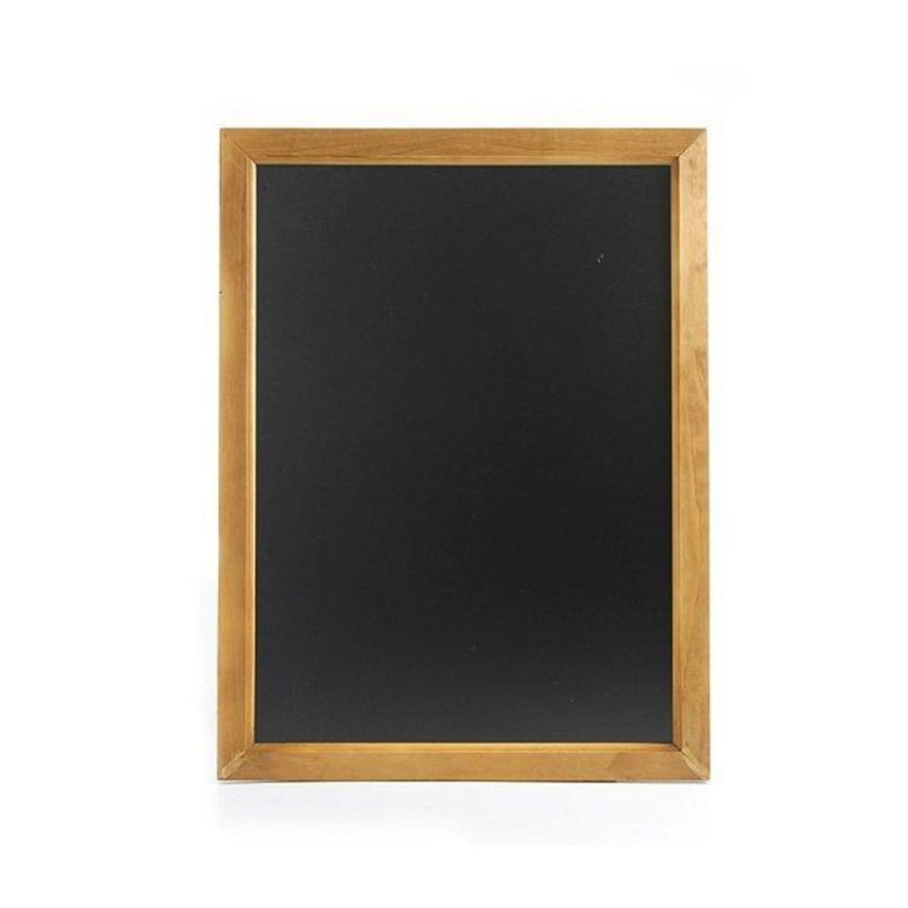 Muur krijtbord - 30 X 40 cm - Zwart - Hendi - 664025