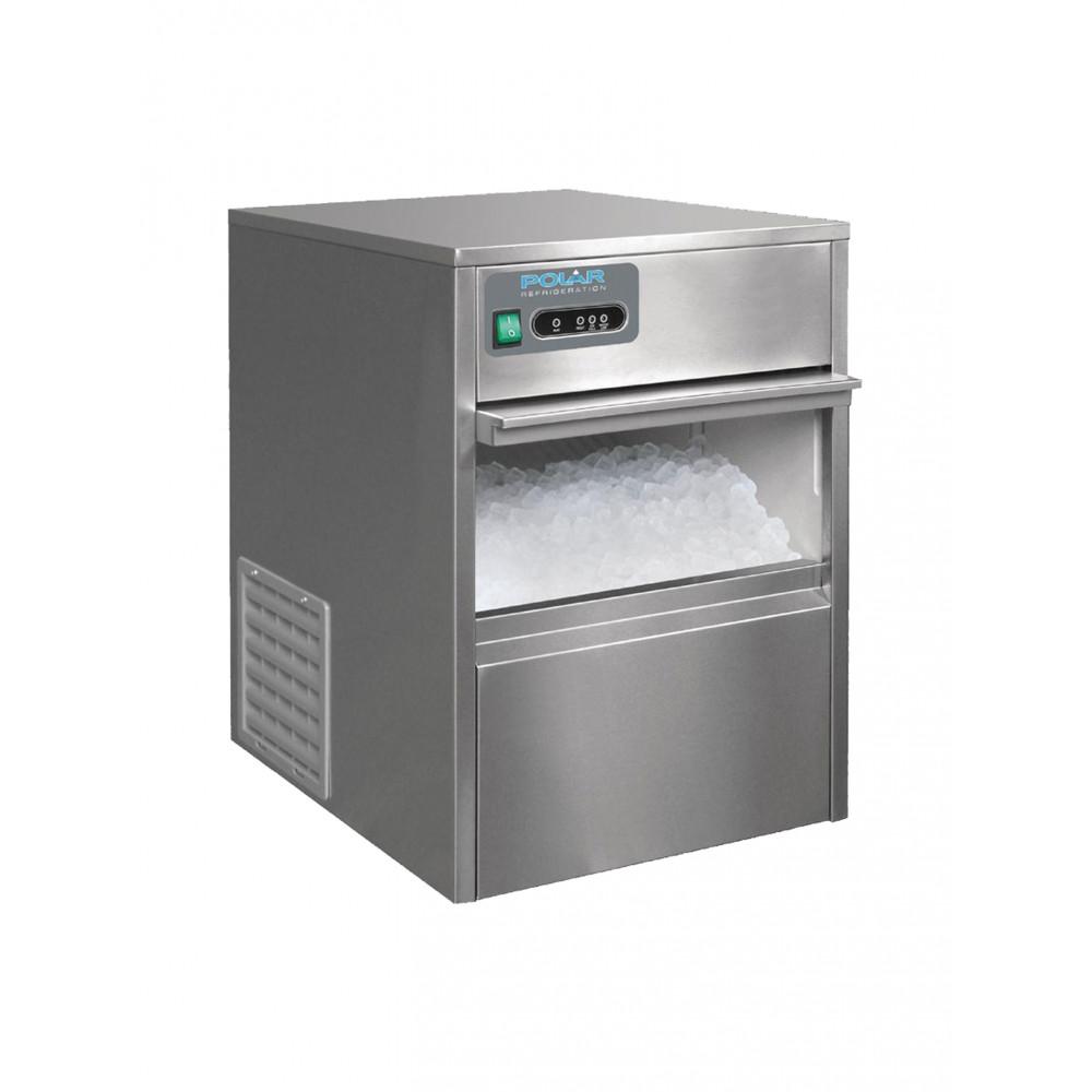 Polar 20 kg / 24u - Holle ijsblokjes - Luchtgekoeld | Holle ijsblokjesmachine