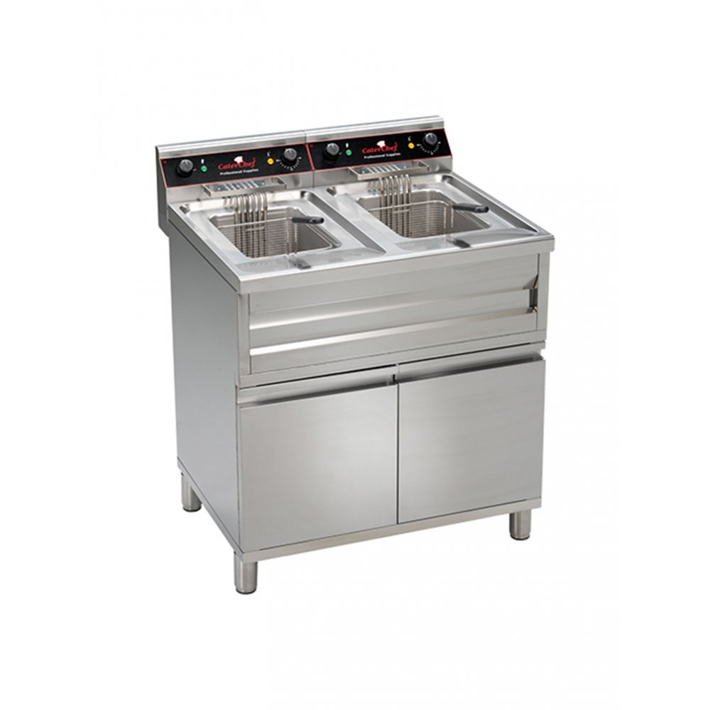 Friteuse - 2 X 12 L - CaterChef - 508224
